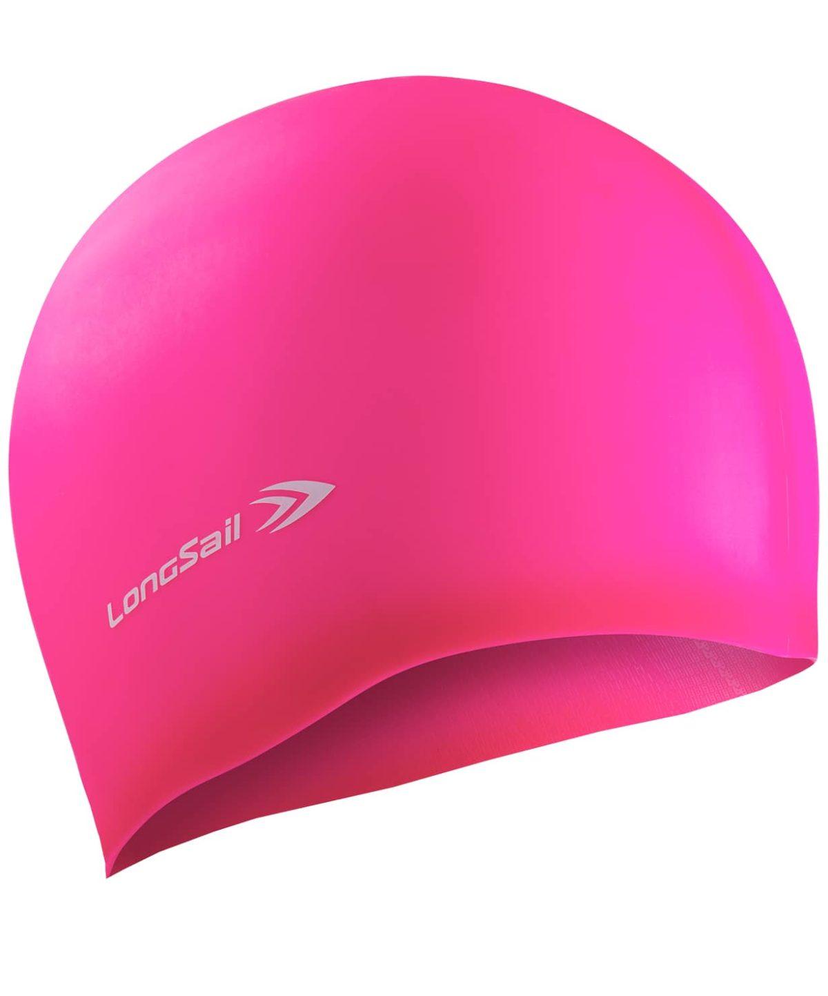 LONGSAIL  Шапочка для плавания силикон: розовый - 1