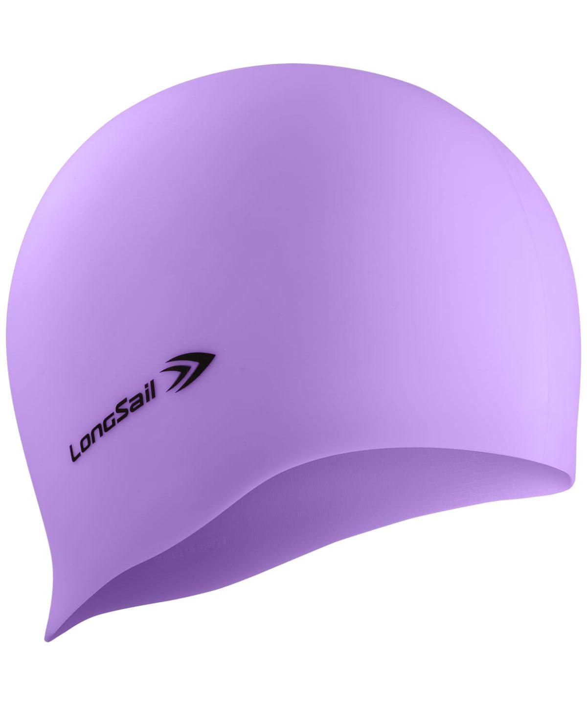 LONGSAIL  Шапочка для плавания силикон: сиреневый - 1