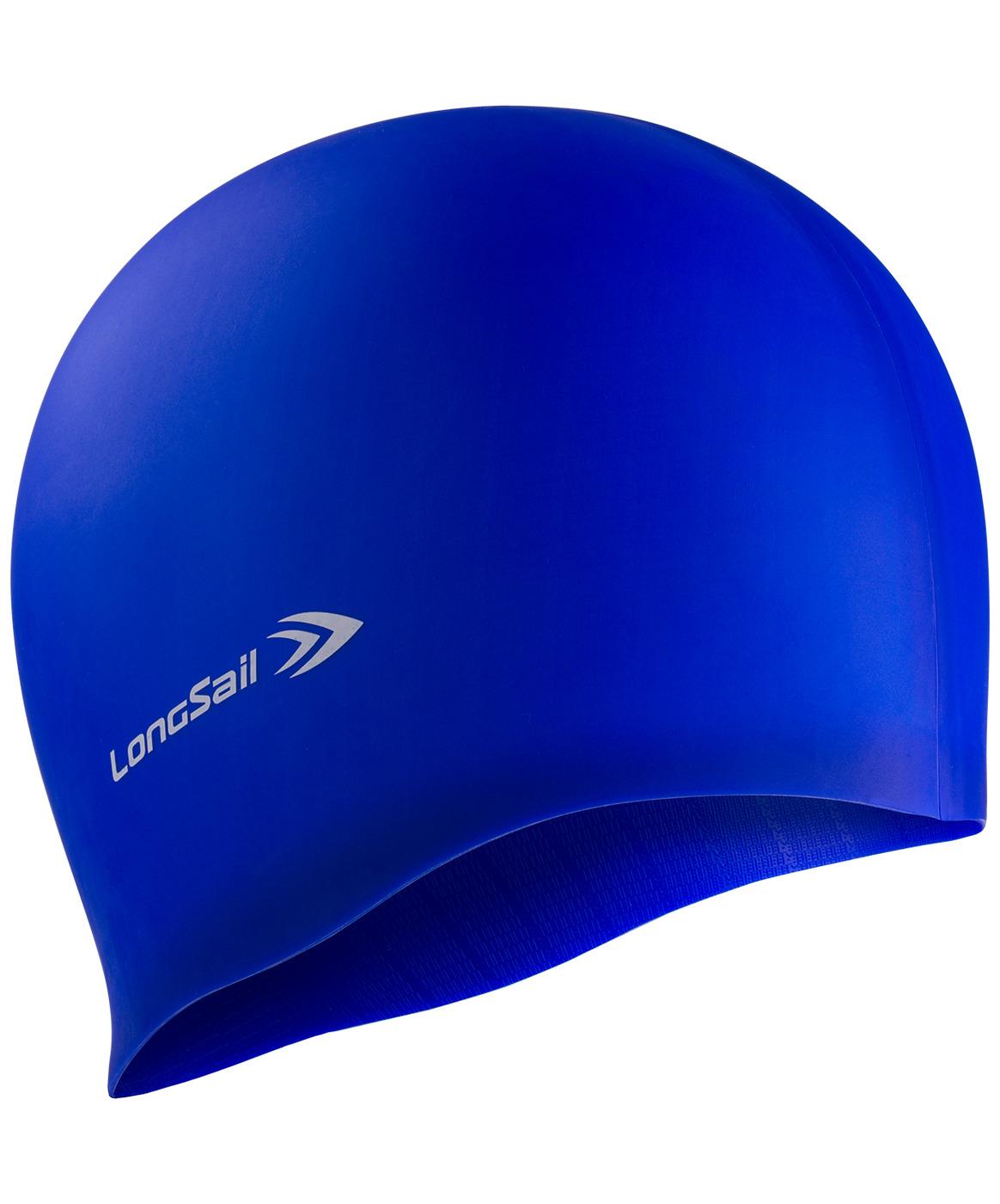 LONGSAIL  Шапочка для плавания силикон: синий - 1