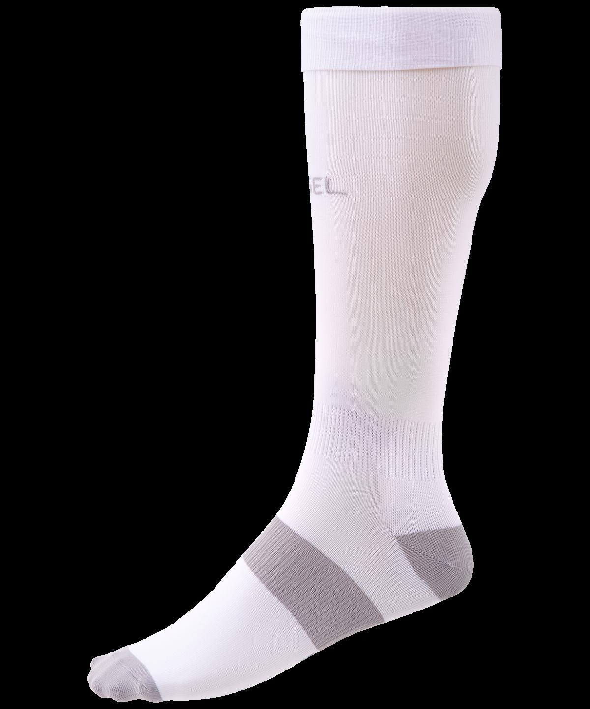 JOGEL Гетры футбольные Essentiаl, белый/серый  JA-006 - 1