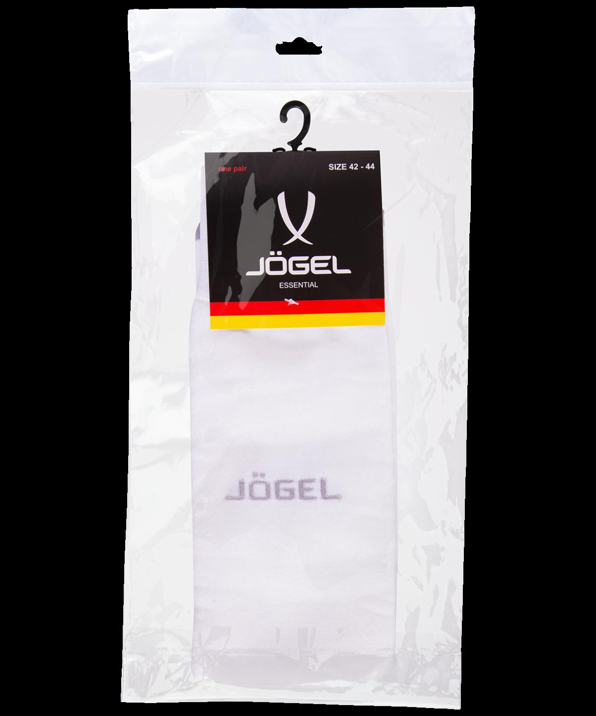 JOGEL Гетры футбольные Essentiаl, белый/серый  JA-006 - 4