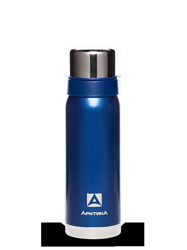 АРКТИКА Термос с узким горлом американский дизайн 750 мл  106-750: синий - 1