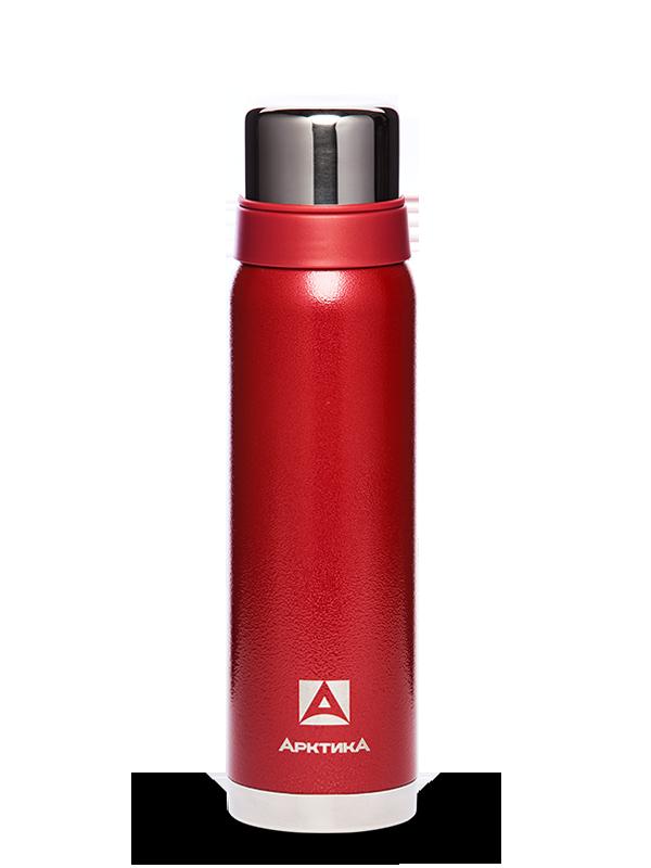 АРКТИКА Термос  с узким горлом американский дизайн 900 мл  106-900: красный - 1