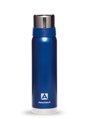 АРКТИКА Термос  с узким горлом американский дизайн 900 мл  106-900: синий - 19