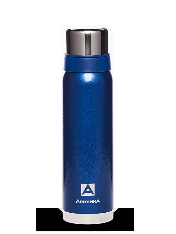 АРКТИКА Термос  с узким горлом американский дизайн 900 мл  106-900: синий - 1