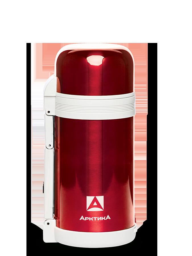 АРКТИКА Термос с широким горлом классический 1200 мл  202-1200: красный - 1