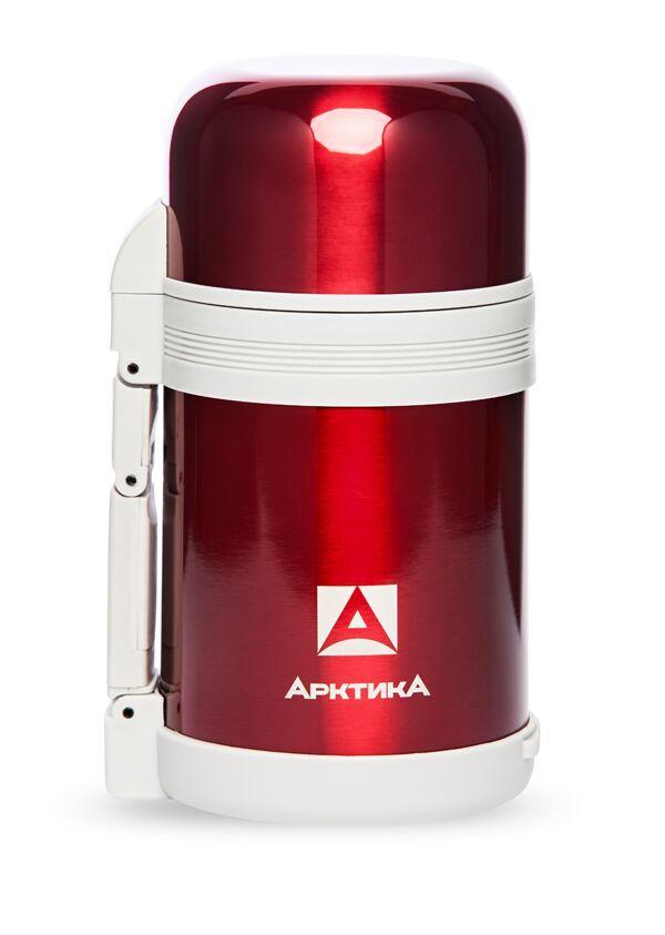 АРКТИКА Термос с широким горлом классический 800 мл  202-800: красный - 1