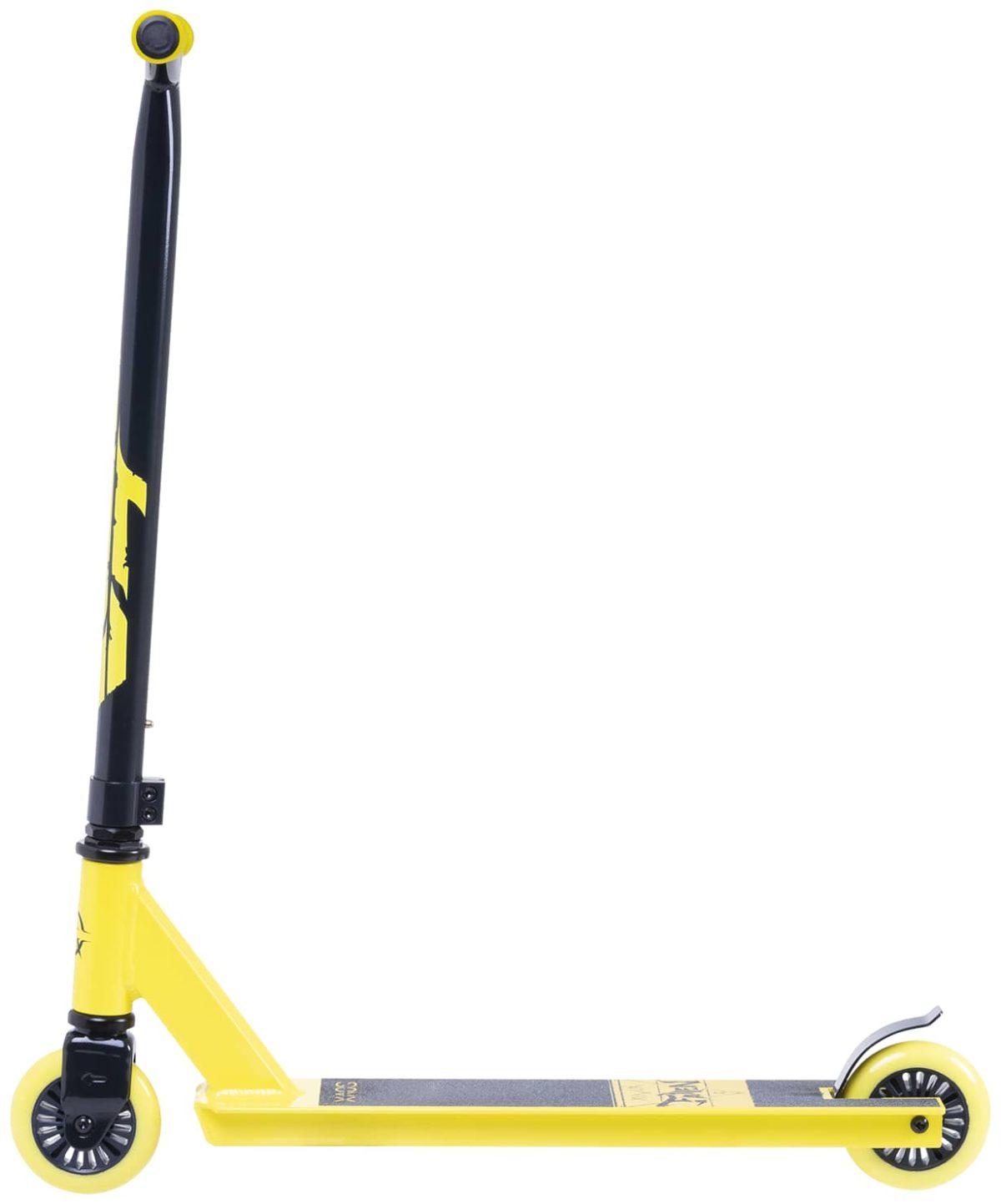XAOS Fallen Cамокат трюковый 100 мм  Fallen: Yellow - 3