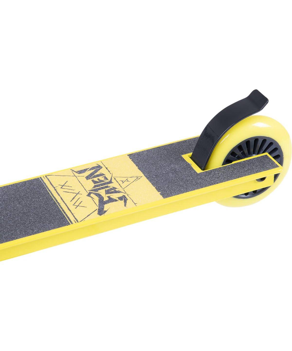 XAOS Fallen Cамокат трюковый 100 мм  Fallen: Yellow - 4