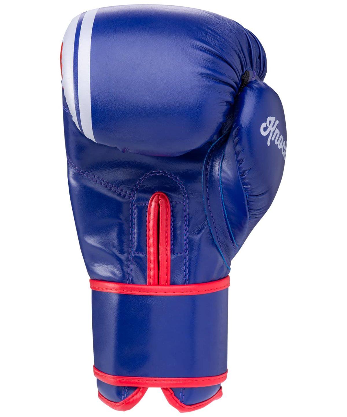 GREEN HILL Перчатки боксерские 12 oz Knockout  BGK-2266: синий - 2