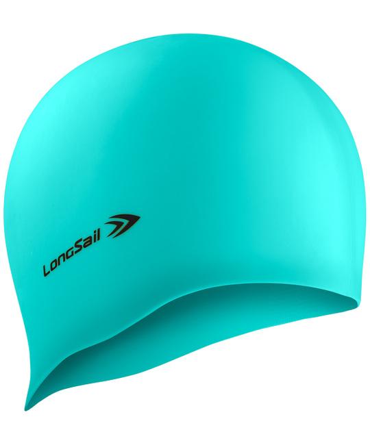 LONGSAIL  Шапочка для плавания силикон: бирюзовый - 1