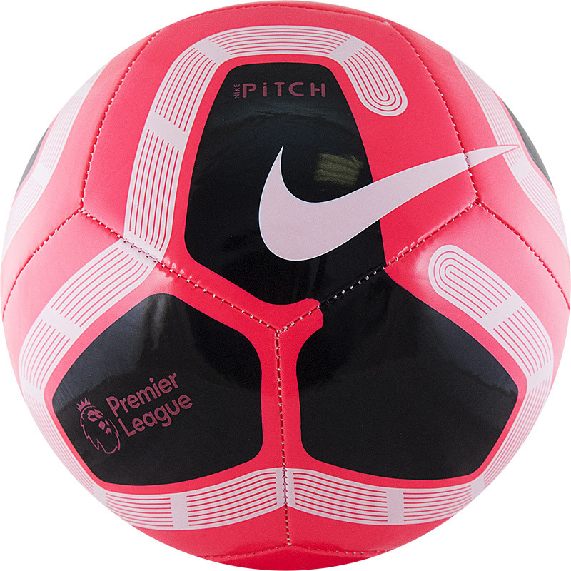 NIKE Pitch PL Мяч футбольный  SC3569-620 №5 - 1