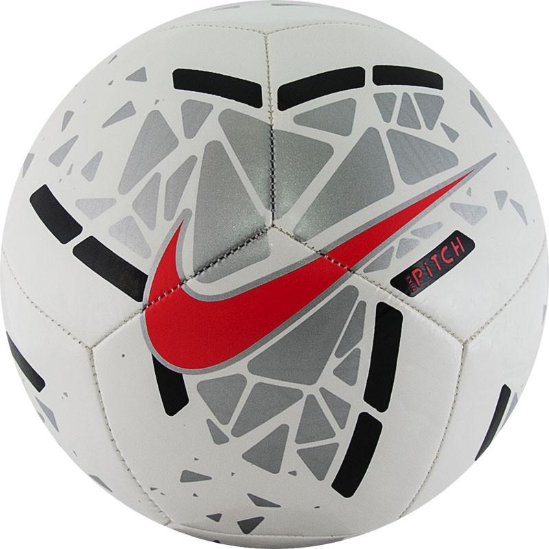 NIKE Pitch Мяч футбольный  SC3807-103 №5 - 1