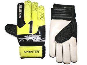 SPRINTER Перчатки вратарские с усилителем  31619: жёлтый - 15
