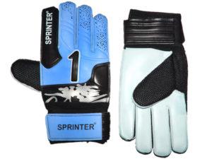 SPRINTER Перчатки вратарские с усилителем  31619: синий - 16