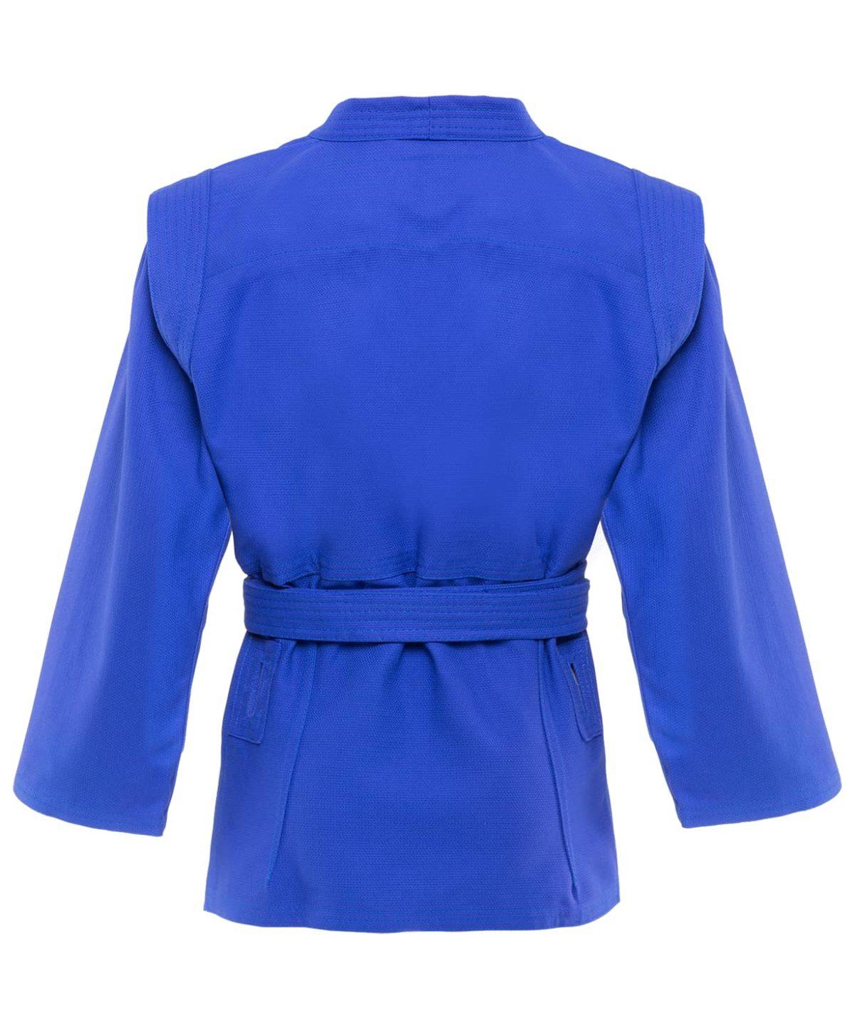 GREEN HILL Куртка для самбо 0/130  JS-302: синий - 2