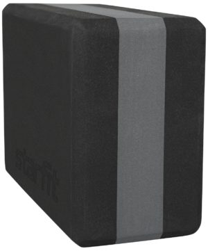 STARFIT EVA Блок для йоги  YB-201: черно-серый - 3