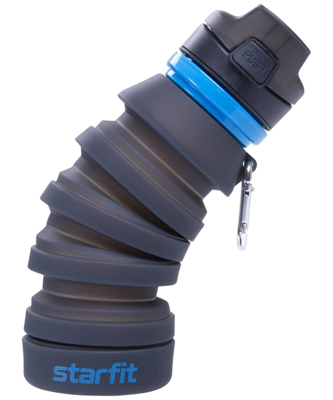STARFIT Бутылка для воды, с карабином, складная  FB-100 - 1