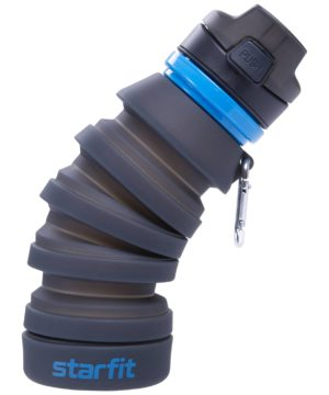 STARFIT Бутылка для воды, с карабином, складная  FB-100 - 15