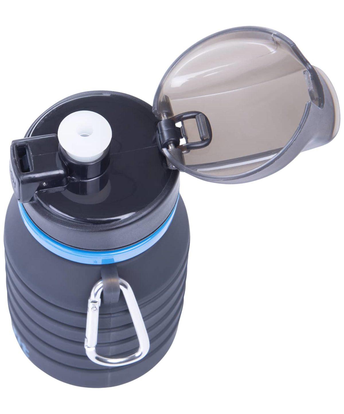 STARFIT Бутылка для воды, с карабином, складная  FB-100 - 2