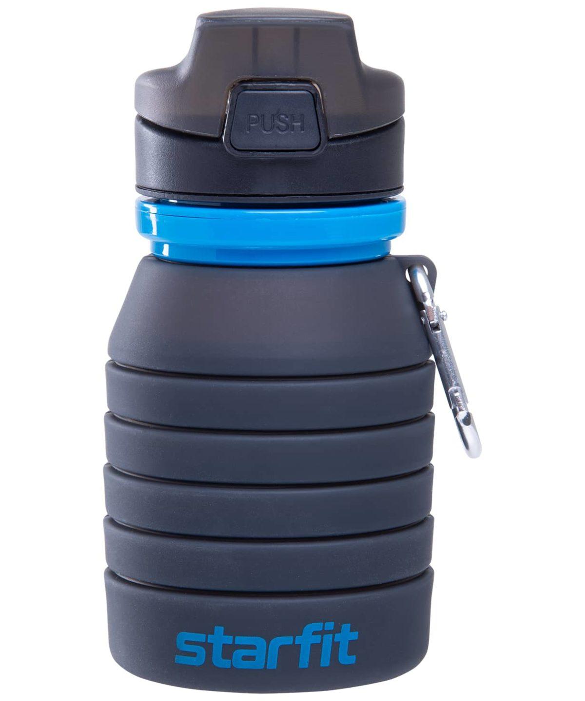 STARFIT Бутылка для воды, с карабином, складная  FB-100 - 3