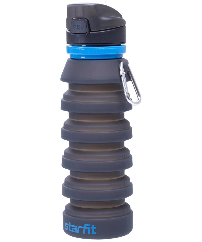 STARFIT Бутылка для воды, с карабином, складная  FB-100 - 4