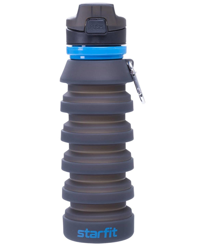 STARFIT Бутылка для воды, с карабином, складная  FB-100 - 6