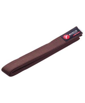 RUSCO Пояс для единоборств, 240 см  1863: коричневый - 14
