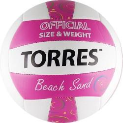TORRES Beach Sand Pink Мяч волейбольный - 2
