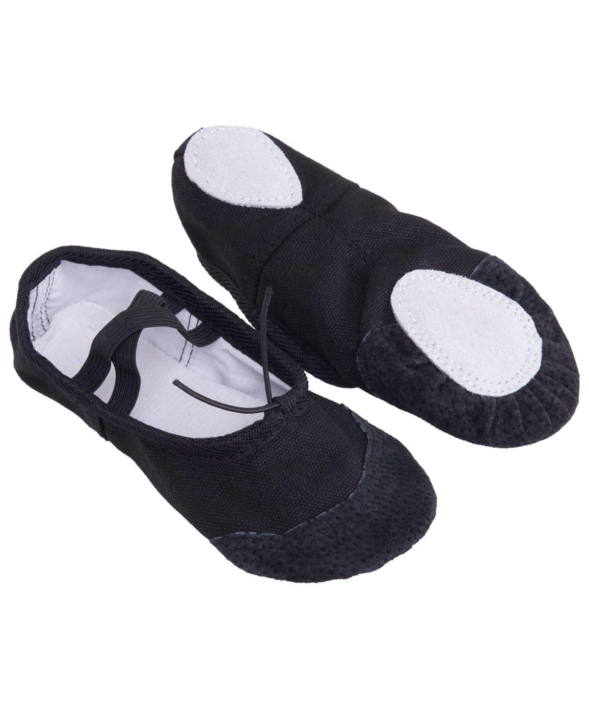 AMELY Балетки текстиль (24-26) SL-01: чёрный - 1