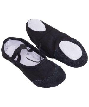 AMELY Балетки текстиль (24-26) SL-01: чёрный - 5