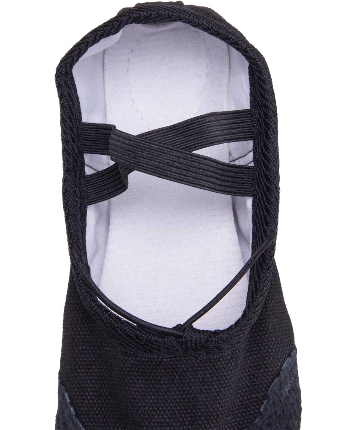 AMELY Балетки текстиль (24-26) SL-01: чёрный - 2