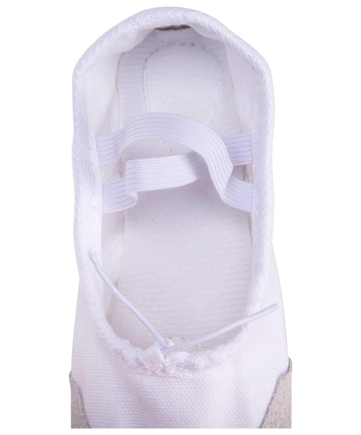 AMELY Балетки текстиль (32-37)  SL-01: белый - 2