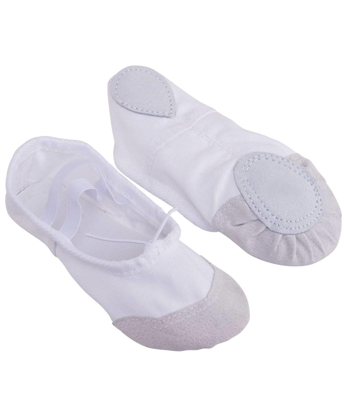 AMELY Балетки текстиль (38-42) SL-01: белый - 1