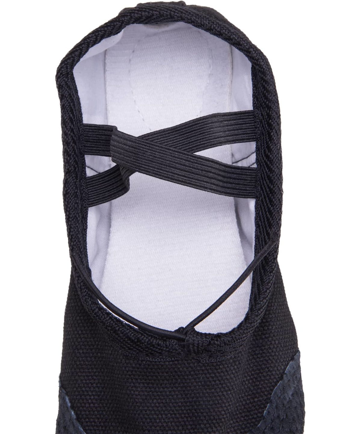 AMELY Балетки текстиль (38-42) SL-01: чёрный - 2