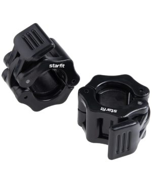 STARFIT Комплект замков для грифа с фиксатором, пластиковые d=26 мм BB-109 - 15