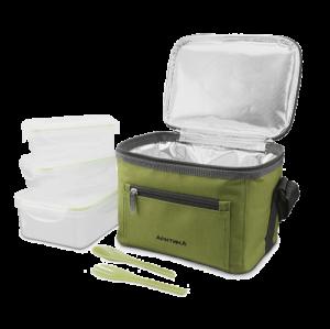 АРКТИКА Термосумка с контейнерами 2,5 л. 020-2500: зелёный - 15