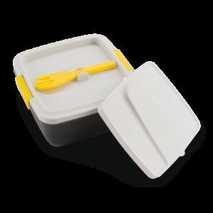 АРКТИКА Ланчбокс с раздельными секциями 1600 мл 030-1600 : серый/жёлтый - 4