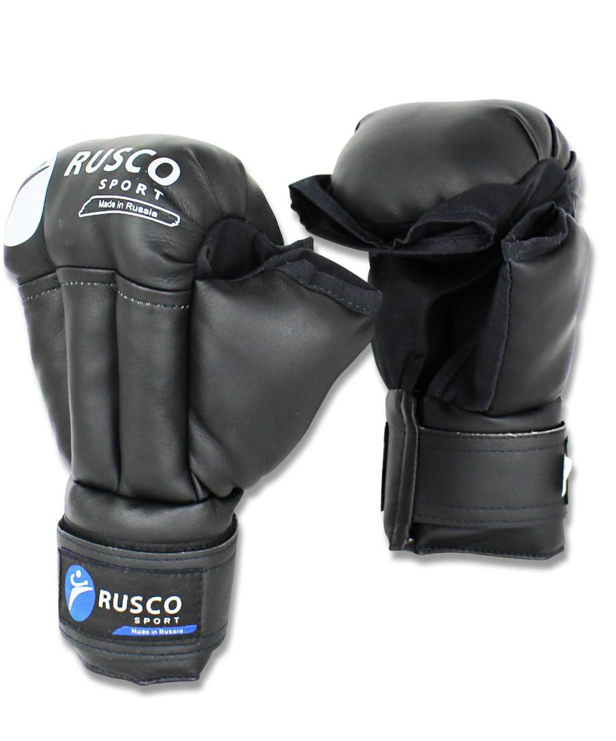RUSCO перчатки для рукопашного боя  9845: чёрный - 1