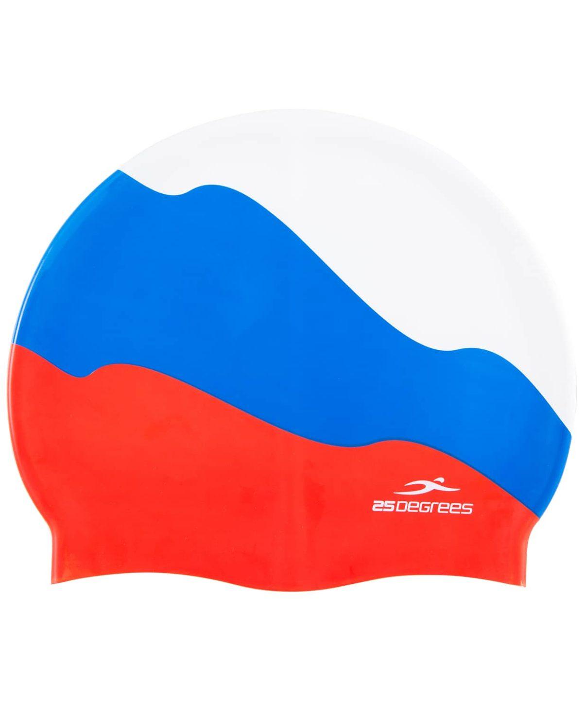 25DEGREES Шапочка для плавания Russia, силикон 25D15-RU01-20-30 - 1