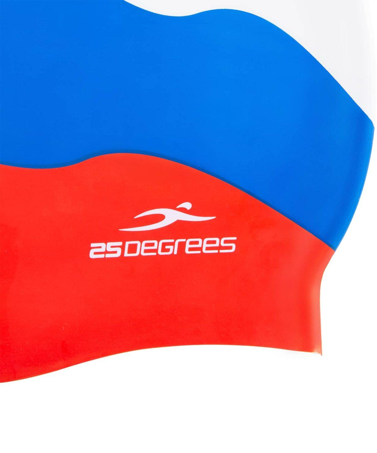 25DEGREES Шапочка для плавания Russia, силикон 25D15-RU01-20-30 - 2