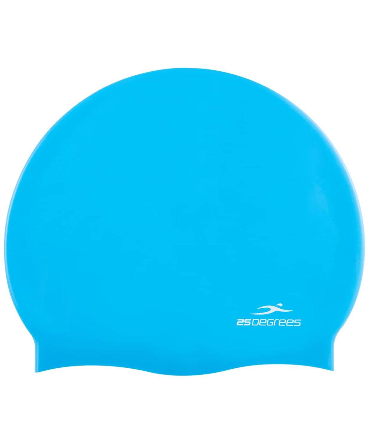25DEGREES Шапочка для плавания Nuance, силикон 25D15-NU-20-30: голубой - 1