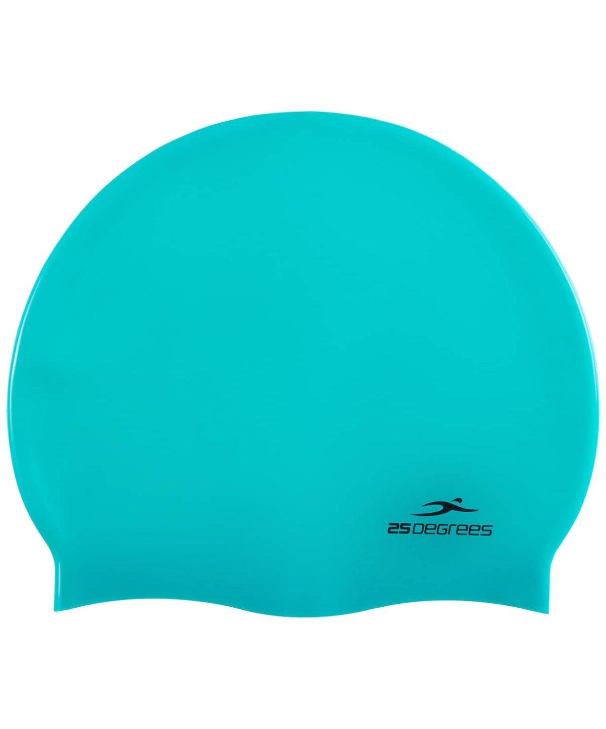 25DEGREES Шапочка для плавания Nuance, силикон 25D15-NU-20-30: зелёный - 1