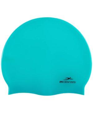 25DEGREES Шапочка для плавания Nuance, силикон 25D15-NU-20-30: зелёный - 4
