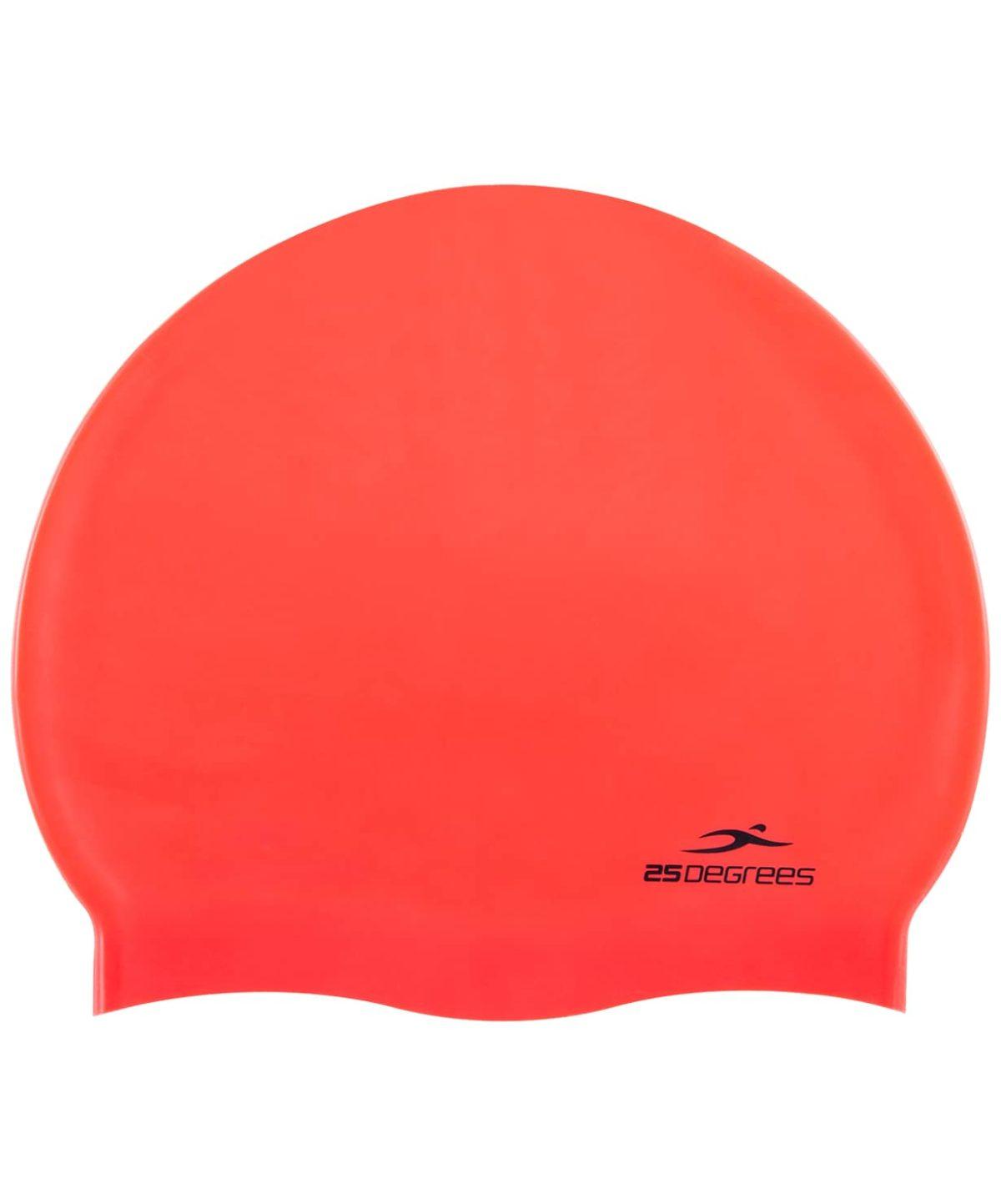 25DEGREES Шапочка для плавания Nuance, силикон 25D15-NU-20-30: красный - 1