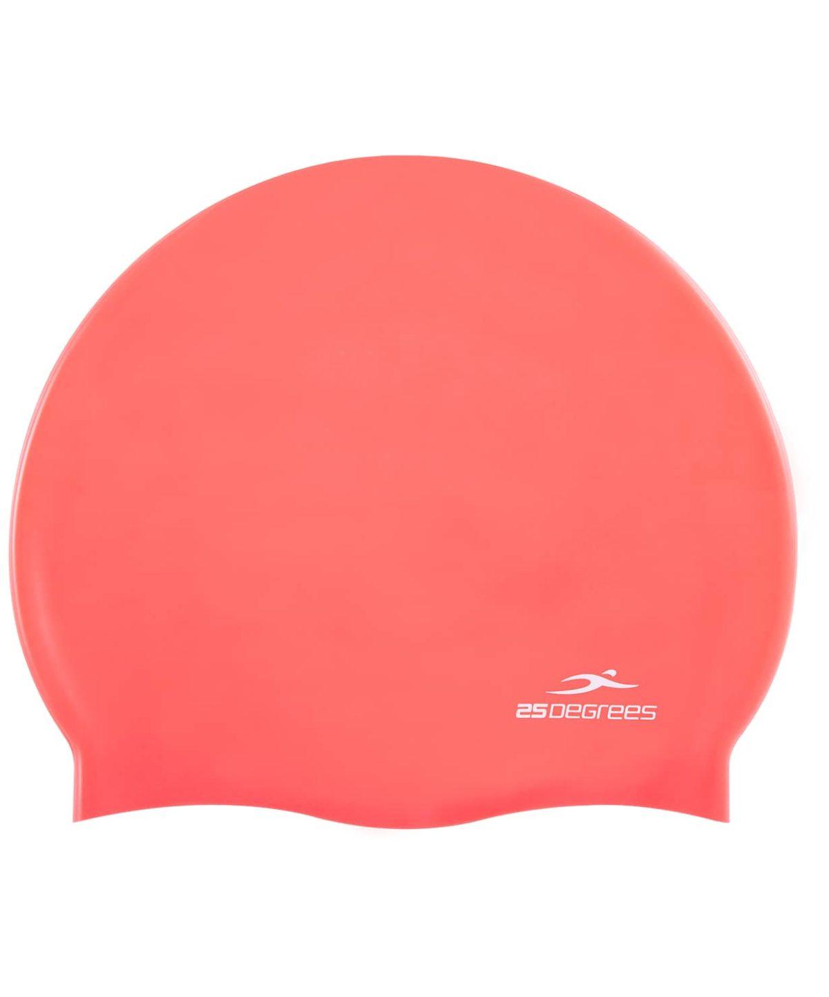 25DEGREES Шапочка для плавания Nuance, силикон 25D15-NU-20-30: розовый - 1