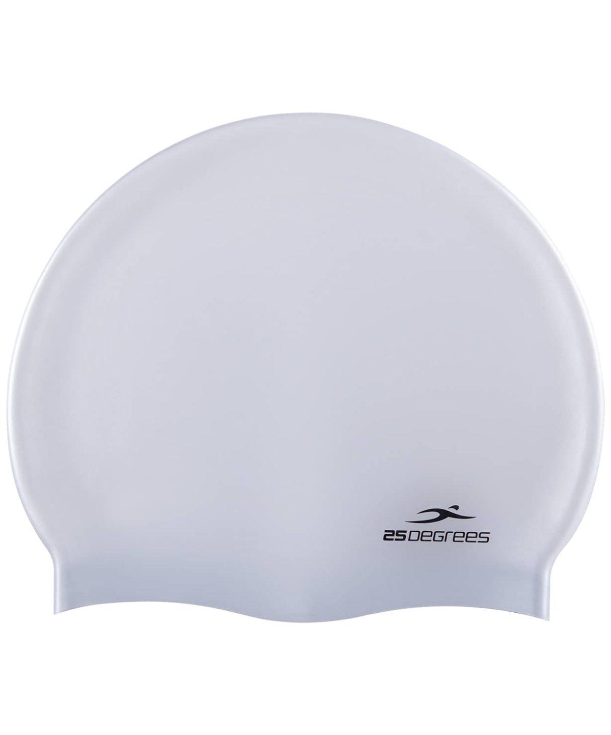 25DEGREES Шапочка для плавания Nuance, силикон 25D15-NU-20-30: серебристый - 1