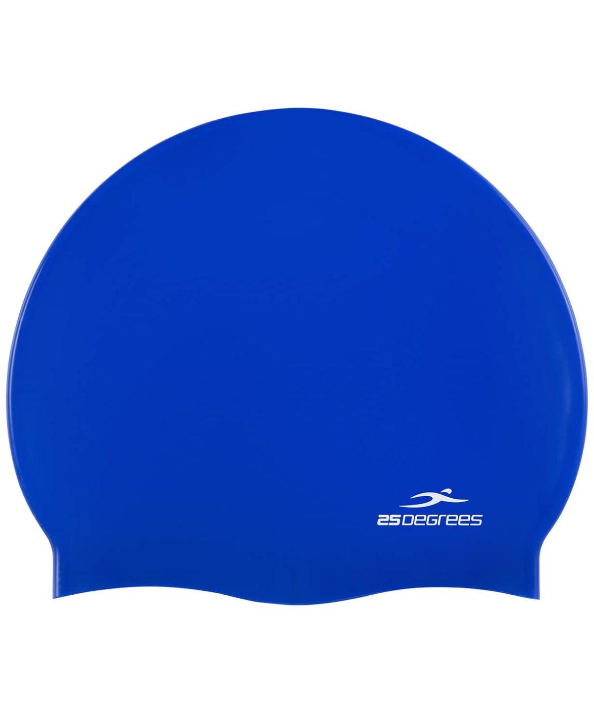 25DEGREES Шапочка для плавания Nuance, силикон 25D15-NU-20-30: синий - 1