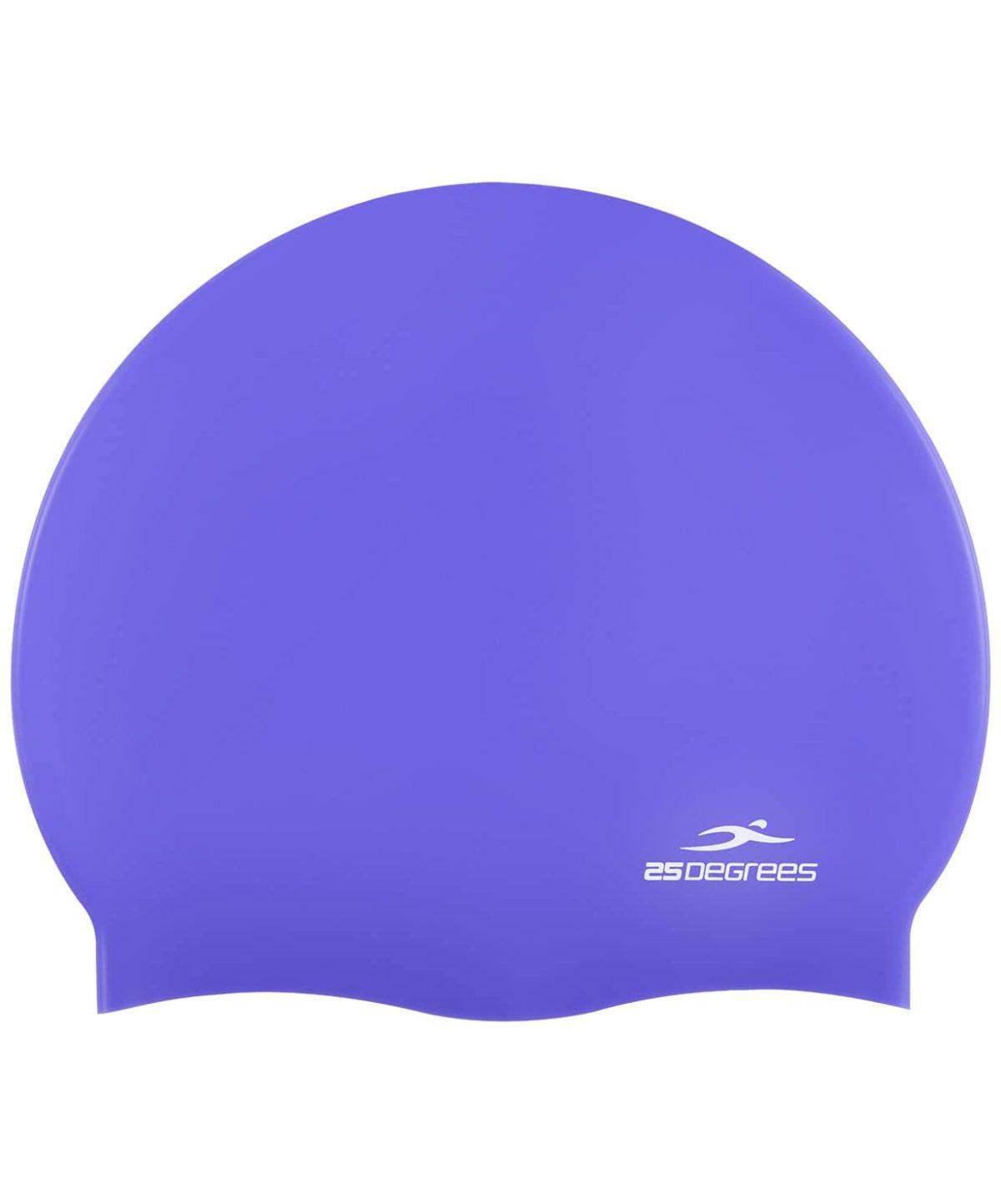 25DEGREES Шапочка для плавания Nuance, силикон 25D15-NU-20-30: фиолетовый - 1