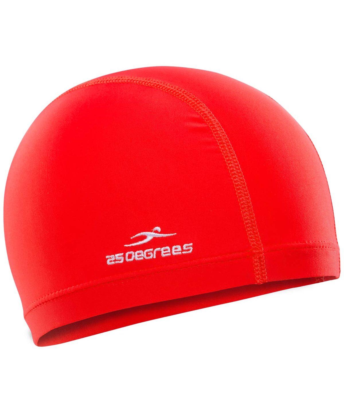 25DEGREES Шапочка для плавания Essence, полиамид 25D15-ES-22-32: красный - 1
